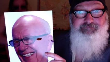 Randy Quaid Returns By Posting Strange Video Of Him Humping His Wife While She Wears Rupert Murdoch Mask