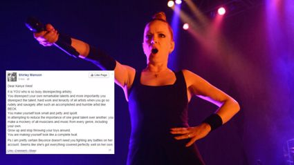 Shirley Manson Rips Kanye West In Open Letter