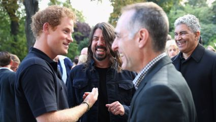 Foo Fighters Wowed Prince Harry At Invictus Games