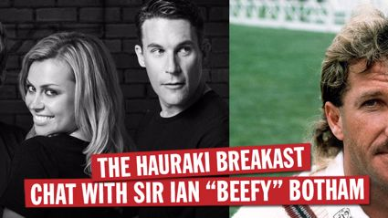 Hauraki Breakfast Interview Ian Botham