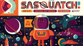 The Sasquatch! Music Festival Line-Up Is Awesome