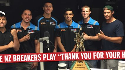 """The NZ Breakers Play """"Thank You For Your Honesty"""""""