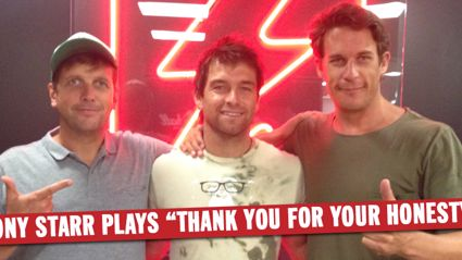 """Antony Starr Plays """"Thank You For Your Honesty"""""""
