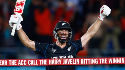 Hear The ACC Call The Hairy Javelin Hitting The Winning Six