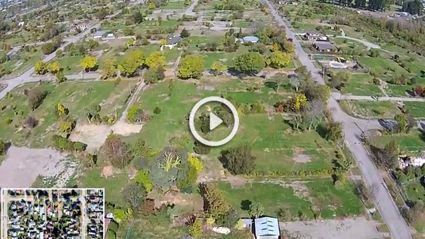 Incredible Drone Footage Of Red-Zoned Christchurch Suburb