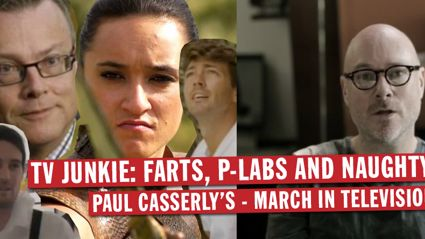 TV Junkie: Paul Casserly's - March In Television