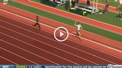 Runner Prematurely Celebrates Win Then Gets Passed At Finish Line