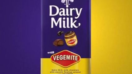 Cadbury Create New 'Vegemite' Chocolate Block