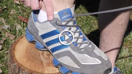 THIS Is What the Extra Shoelace Hole Is For On Your Shoe