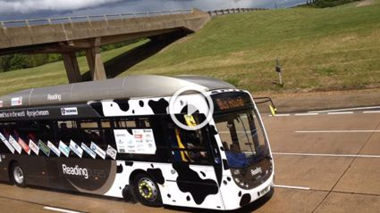 'Poo Bus' Sets Land Speed Record