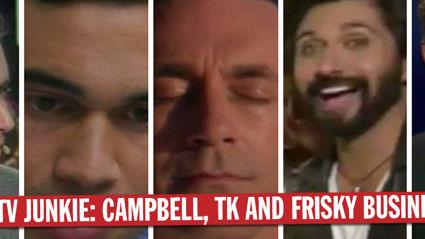 TV Junkie: Campbell, Henry &TK Samuels