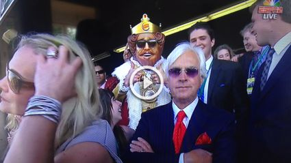 The Burger King Turned Up At The Belmont Stakes