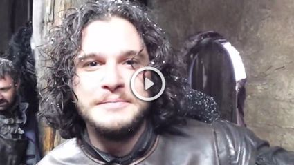 """Dad Gets Entire Night's Watch From 'Game Of Thrones' To Wish His Son """"Happy Birthday"""""""