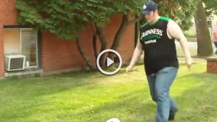 The GREATEST Fail At Kicking Ball You'll Ever See