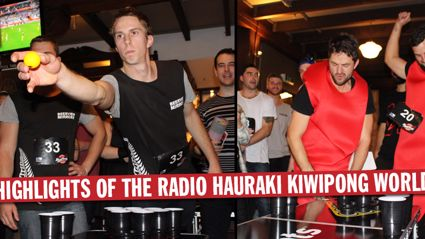 Radio Hauraki Kiwipong World Series 2015 Auckland Highlights