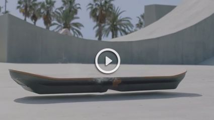 Lexus Creates Real Working Hoverboard
