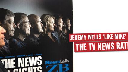 Jeremy Wells 'Like Mike' Hosking Rant - TV News Ratings War