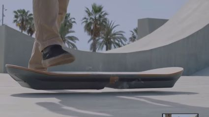 Lexus Made A Hoverboard. Yes It's Real, And Yes You Can Ride It.