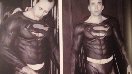 Nicolas Cage Almost Played Superman And There's Footage To Prove It