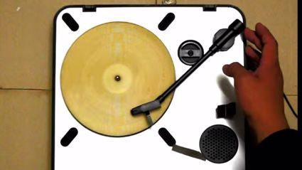 This Guy Made An Actual Playable Record Out Of A Tortilla