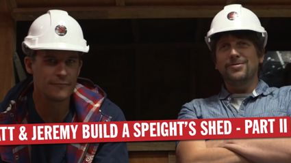 Matt & Jeremy Build One Of The Speight's Sheds - Part II
