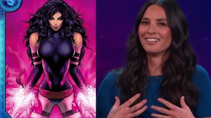 How Olivia Munn Squeezes Into Her 'X-Men' Costume