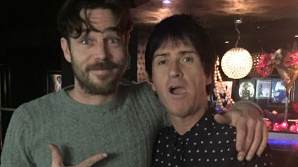 Alex Behan Interviews Johnny Marr