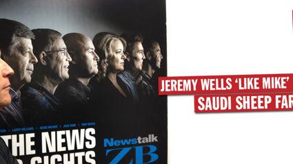 Jeremy Wells 'Like Mike' Hosking Rant - Saudi Sheep Farmers
