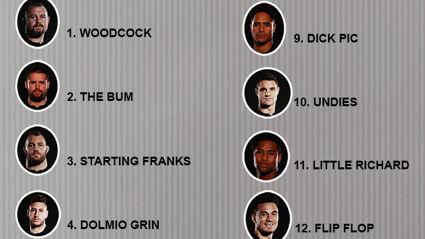 The Hauraki Breakfast Official All Blacks Team List