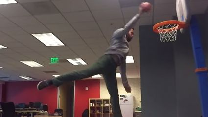 Guy Gets Fired, Spends The Rest Of His Days Doing Dunks