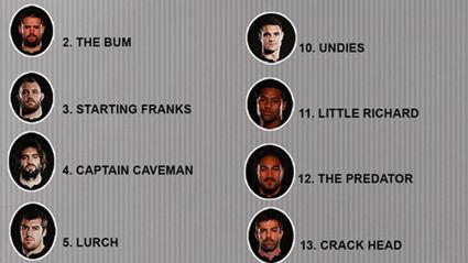 The Hauraki Breakfast Official All Blacks Team List - NZ Vs Australia At Eden Park 15 August 2015