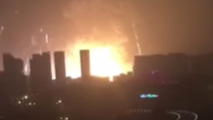 Seven Dead And 180 Injured In Massive Petrol Storage Station Explosion In China