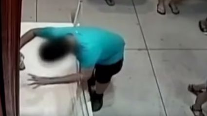 Kid Trips In Museum And Punches Hole Through 1.5 Million Dollar Painting