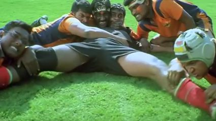 """Bollywood's Hilarious """"Rugby"""" Movie"""