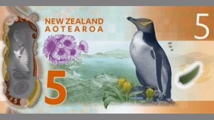 New Zealand's New, Brighter Bank Notes Revealed