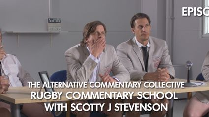 The ACC Rugby Commentary School 101 - Episode 3
