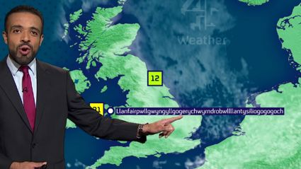 Weatherman Nails Pronouncing Insane Welsh Town Name