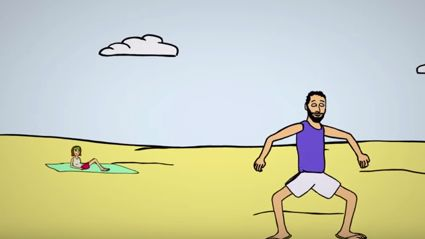 Guy Craps His Pants Of First Date Creates A Cartoon To Tell The Story