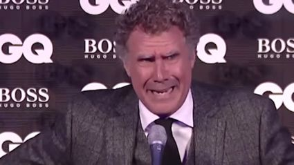 Will Ferrell Cries Accepting His GQ Comedian Of The Year Award