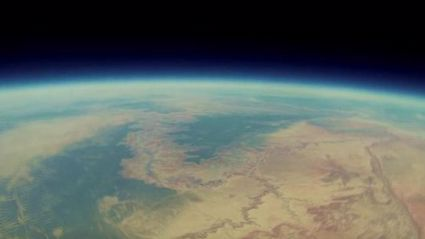 Lost GoPro Falls To Earth Filled With Space Footage