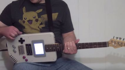 Guy Builds Game Boy Guitar With Full Working Game Boy Inside It