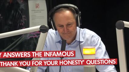 John Key - Thank You For Your Honesty