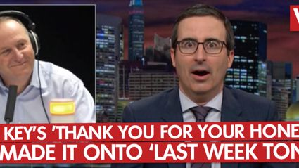 John Key's 'Thank You For Your Honesty' Made It Onto Last Week Tonight