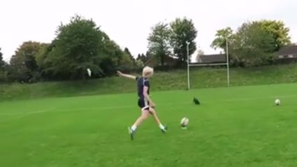 Jonny Wilkinson Discovers New Goalkicking Prodigy