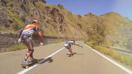 Daredevil Longboarders Tackle Italian Mountainside
