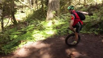 Introducing The Insane Sport Of Mountain Unicycling
