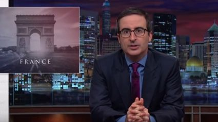 John Oliver 'Last Week Tonight' On The Paris Attacks