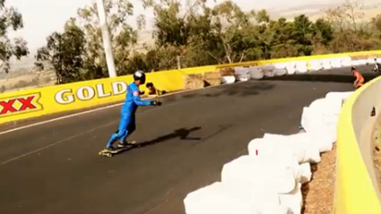 Horrific Crashes & Epic Fails In Downhill Skateboarding