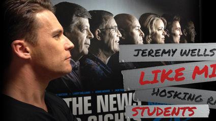 Jeremy Wells 'Like Mike' Hosking Rant - Students
