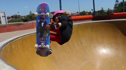 The 10-year-Old Skateboarding Prodigy